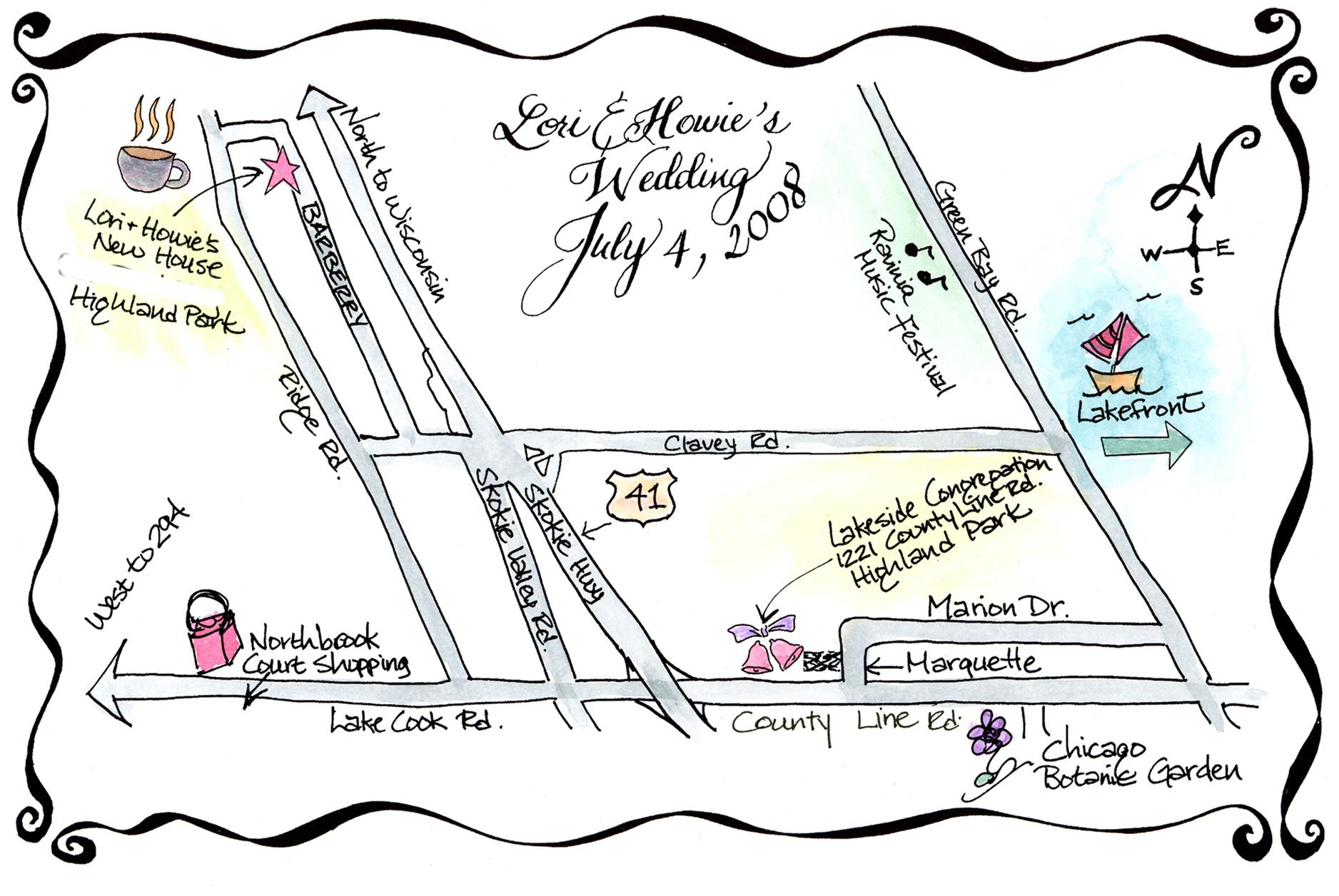 Wedding Invite Map Creator Ideas Craft Museforjews Monicamarmolfo Images