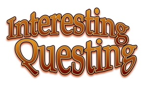 Interesting questing logo